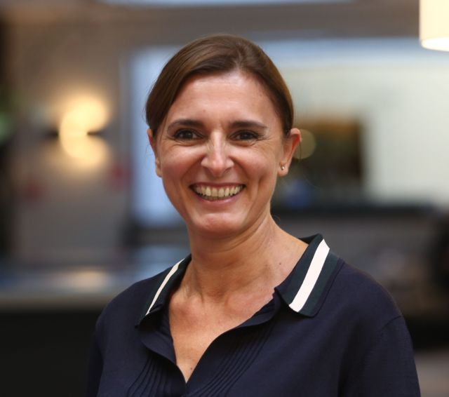 Nathalie Garrigue, General Manager of Barry Callebaut's main nuts company