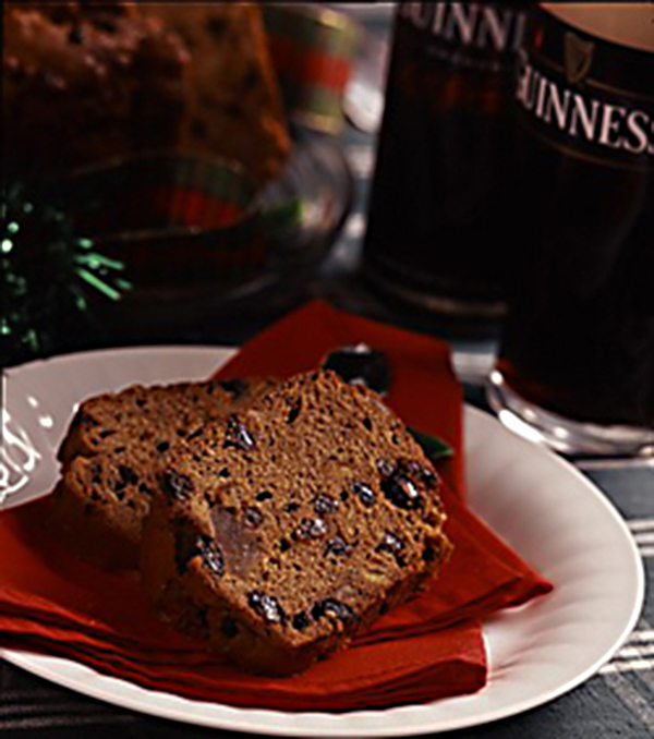 Guinness and Brazil Nuts Fruit Cake