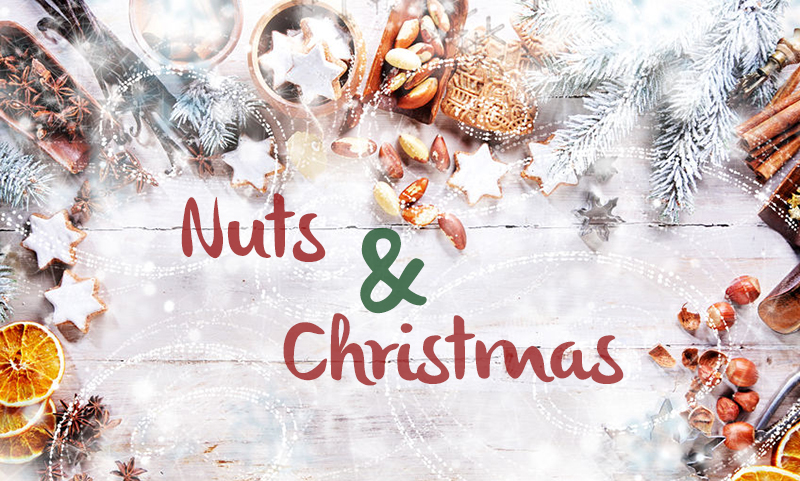 Nuts and Christmas, a perfect marriage