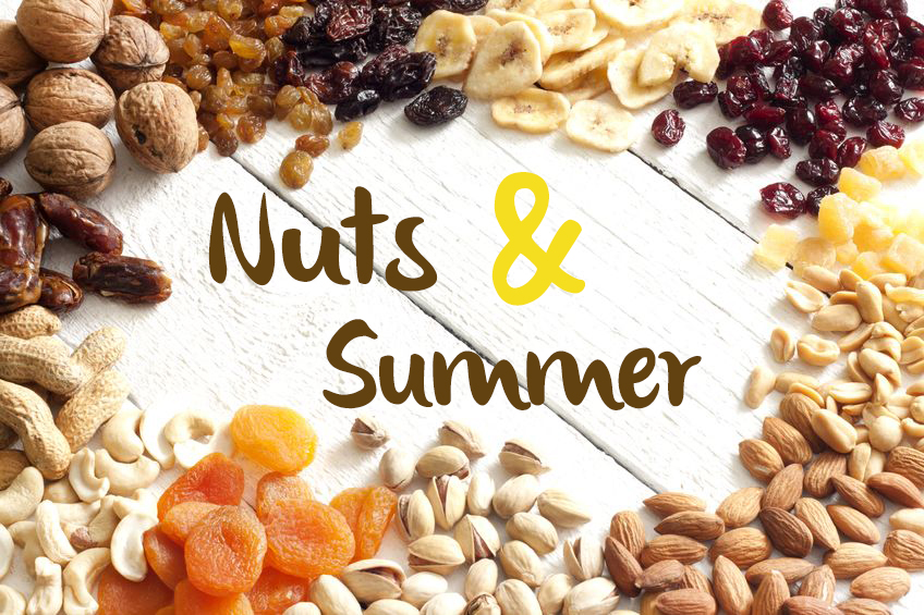 Nuts Are Everywhere this Summer