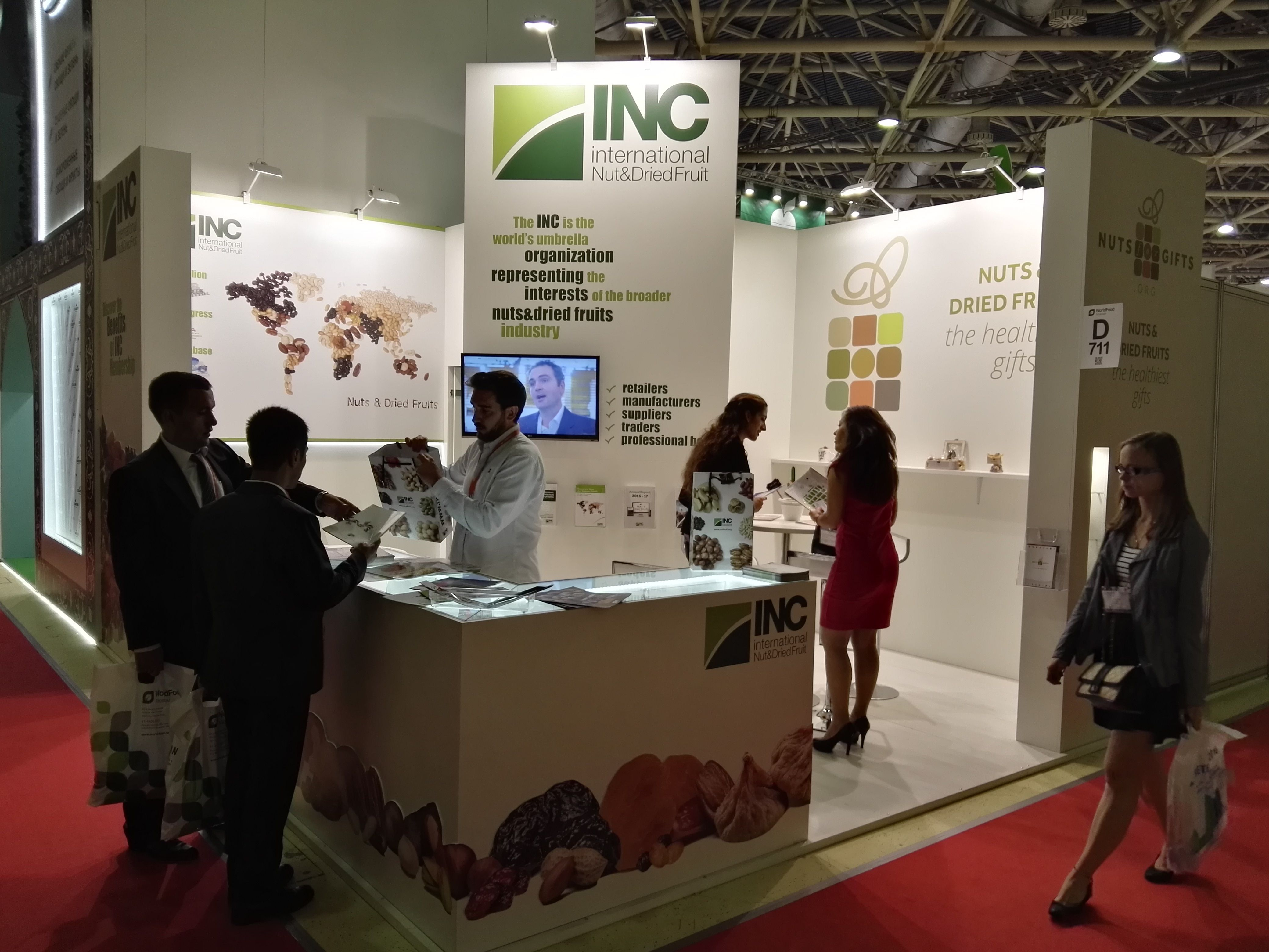 The INC Participates for the First Time in WorldFood Moscow
