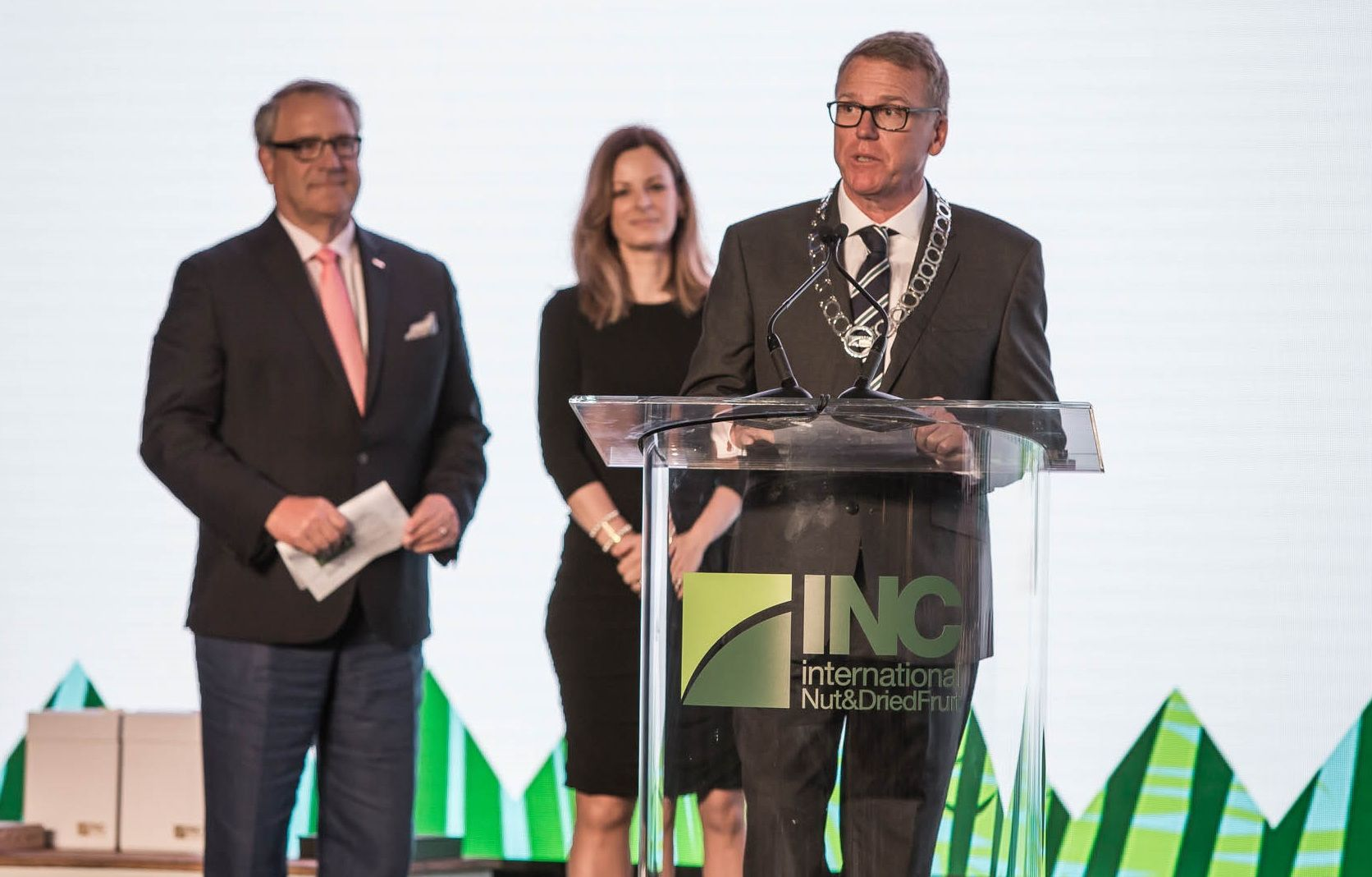 Mr. Michael Waring Appointed New Chairman of the INC