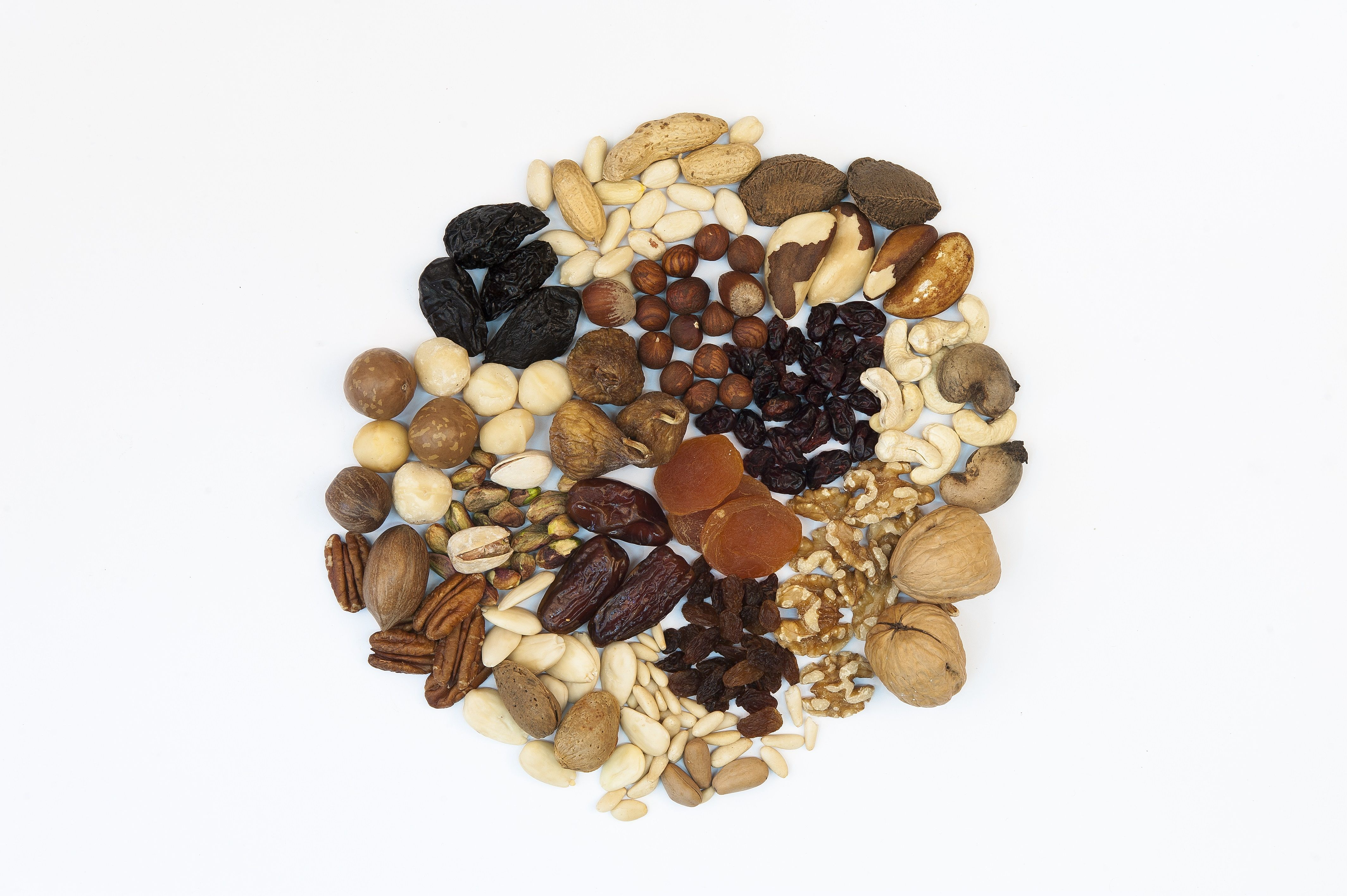 Get a Great Start to the Day with Nuts and Dried Fruits!