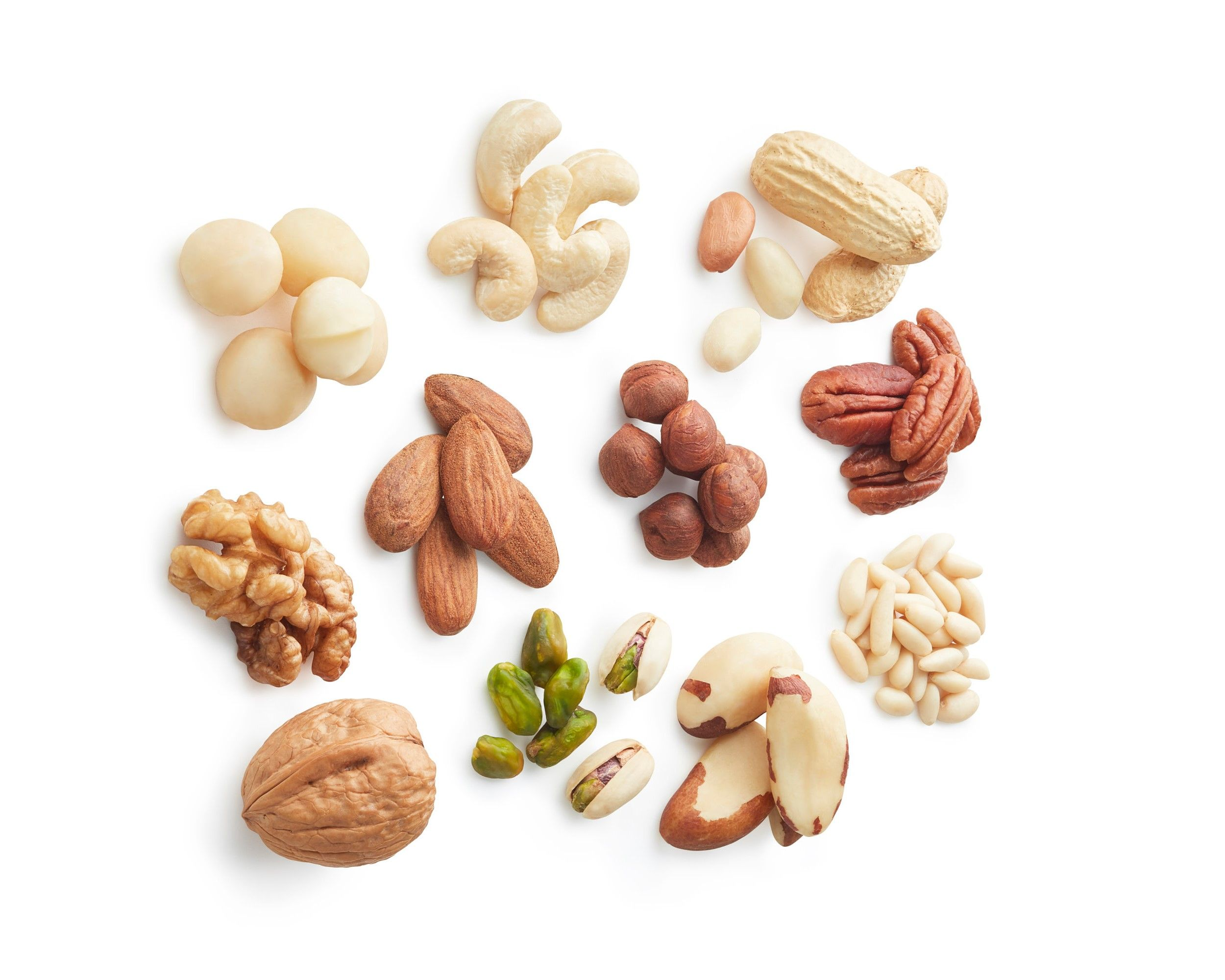 Nut Consumption May Help Prevent Weight Gain