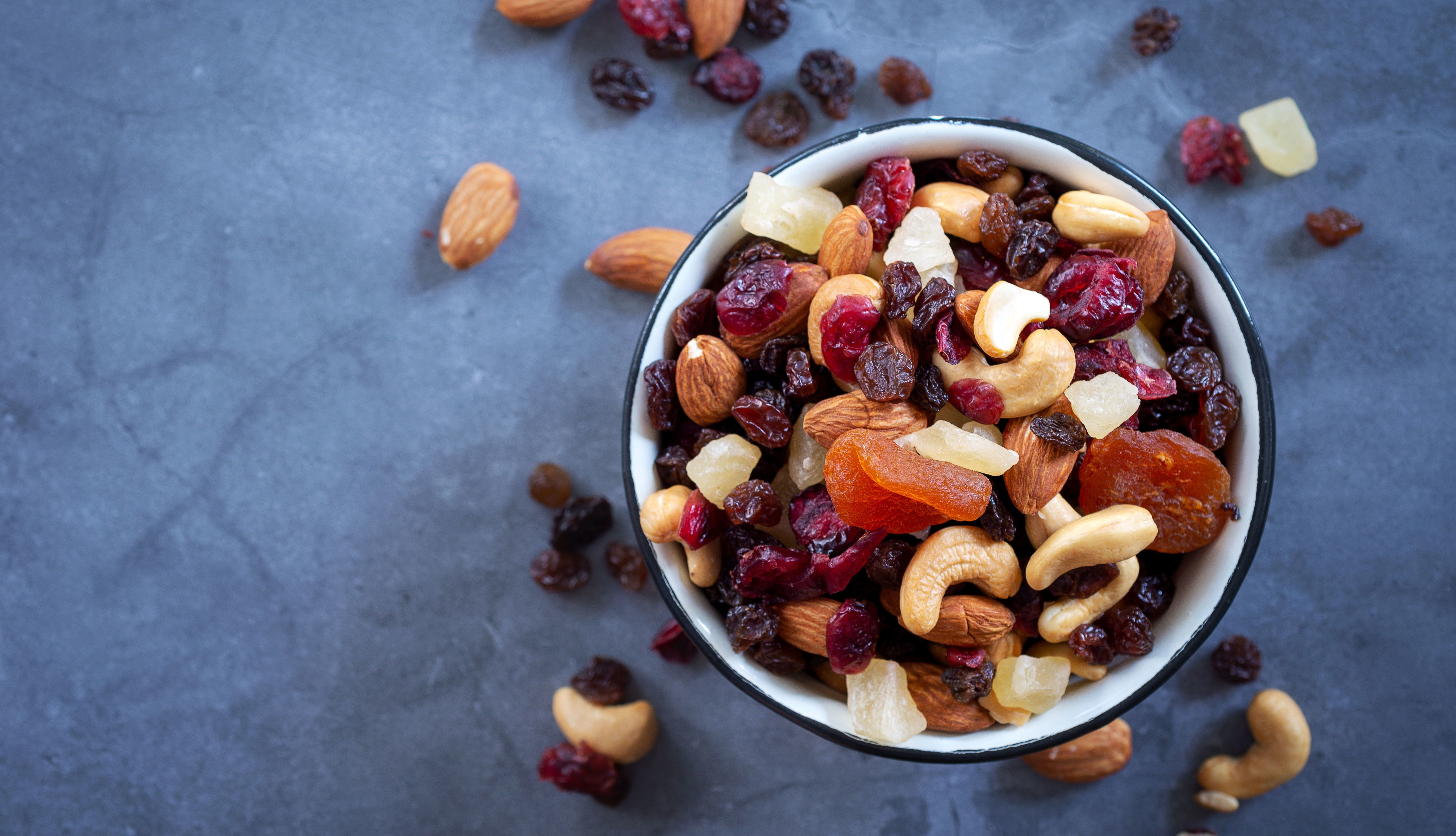 Why Snacking on Nuts and Dried Fruits May Benefit Your Health