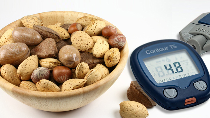 Two Ounces of Nuts per Day May Help pre-Diabetic and Diabetic Patients to Decrease their Fasting Glucose and Insulin Resistance