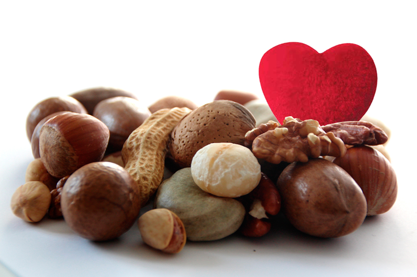 Nuts to lower cholesterol