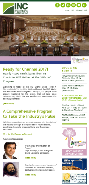 May 2017: Ready for Chennai 2017!