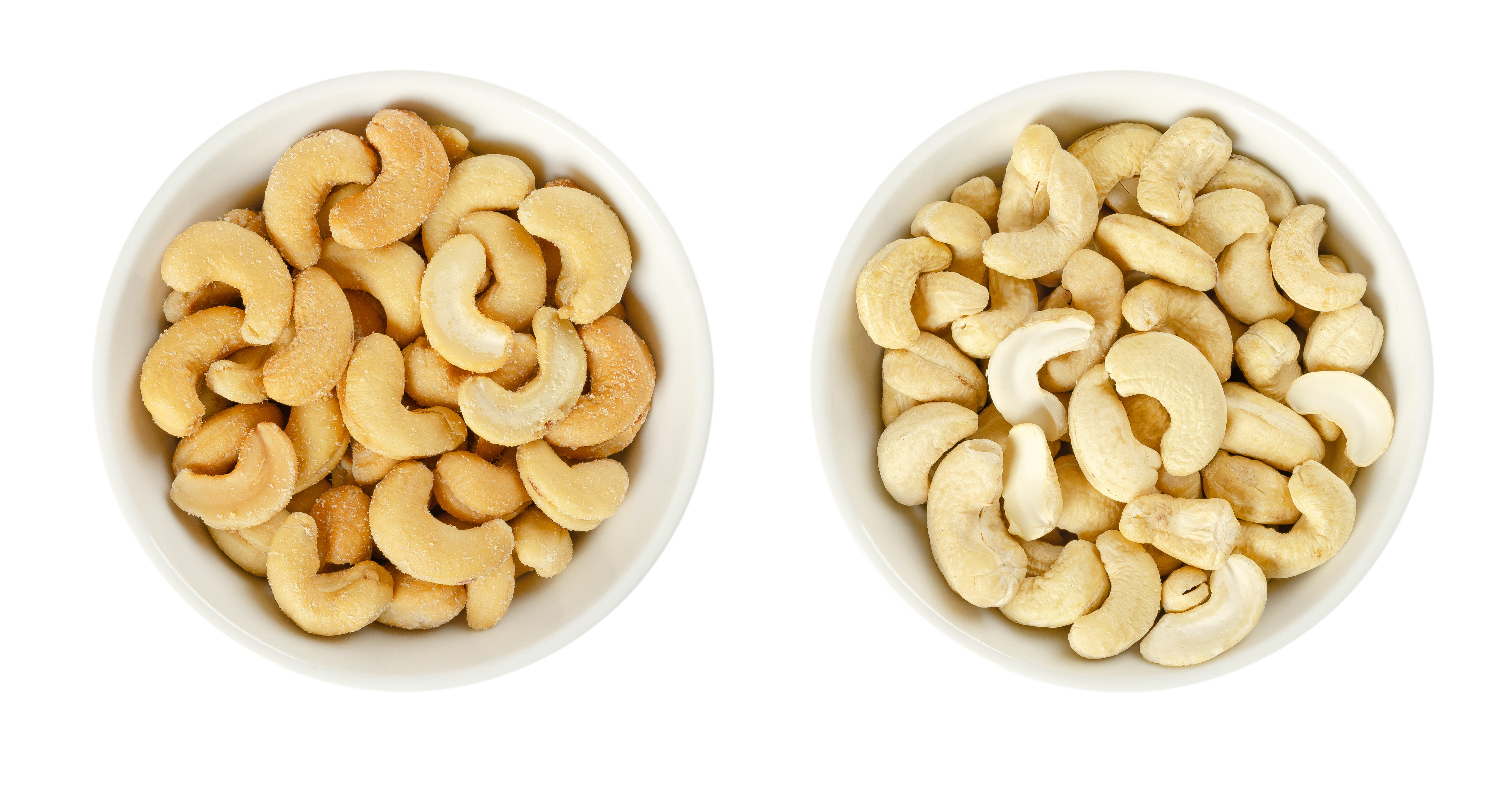 Raw vs. Roasted Nuts